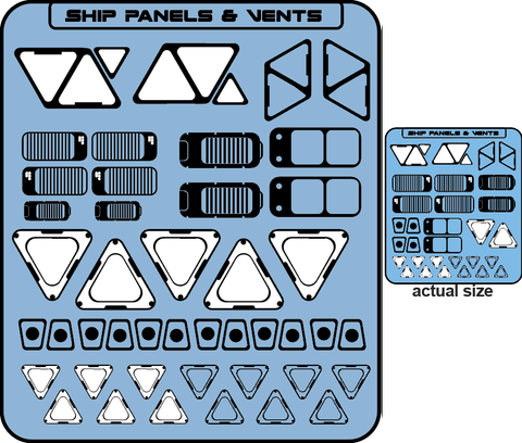 Decal - Hull Panels and Vents