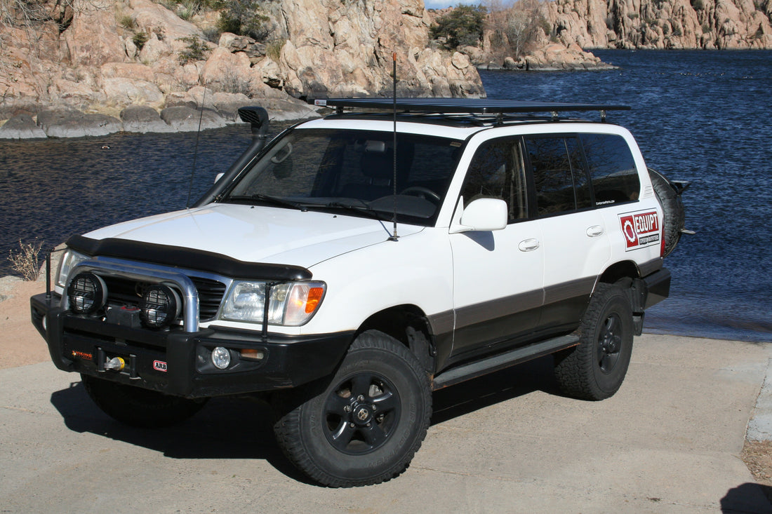 ... Toyota Land Cruiser 100 Series K9 Roof Rack Kit ...