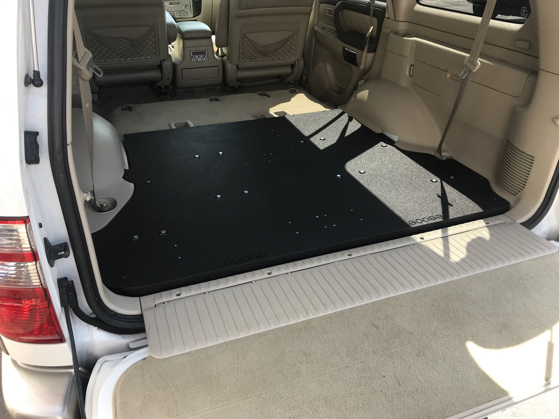 Land Cruiser 100 Plate System 1998-2007