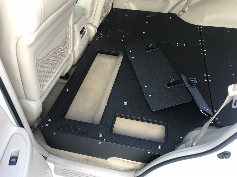 Land Cruiser 100 Seat Delete / Sleeping Platform