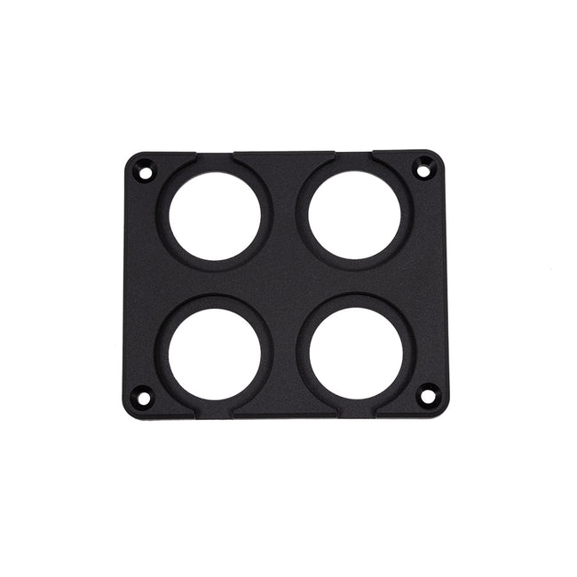 29mm Quadruple Flush Mount Plate