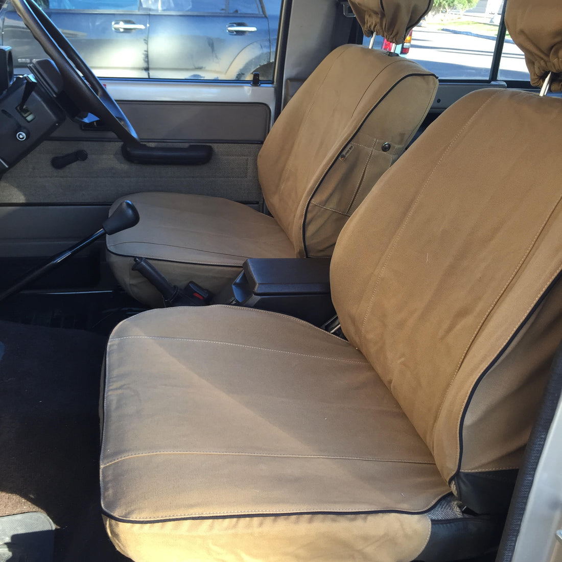 Toyota Land Cruiser 70 Series Seat Covers