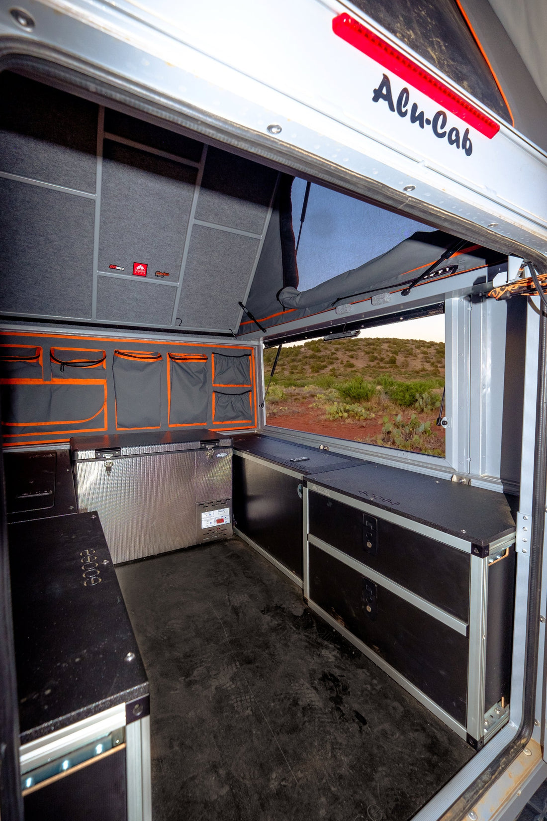 AluCab Canopy Camper Utility Cabinet