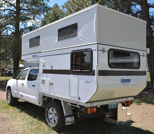 Fleet Midsize Flatbed Camper
