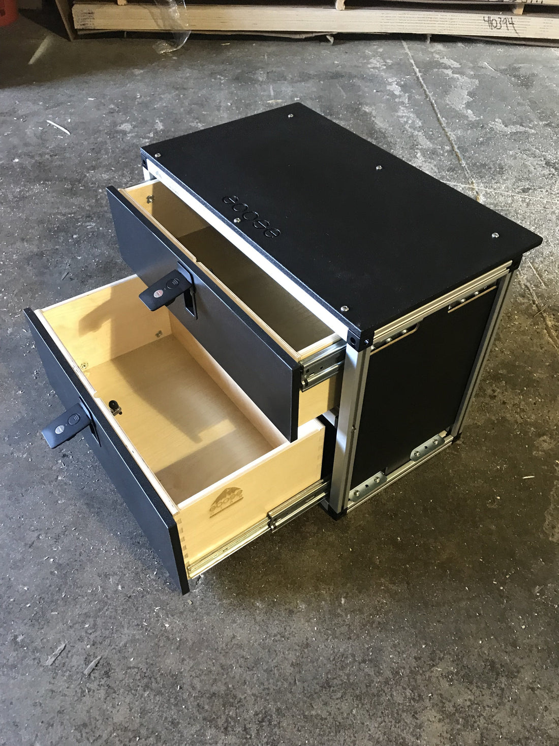 AluCab Canopy Camper Drawer Modules