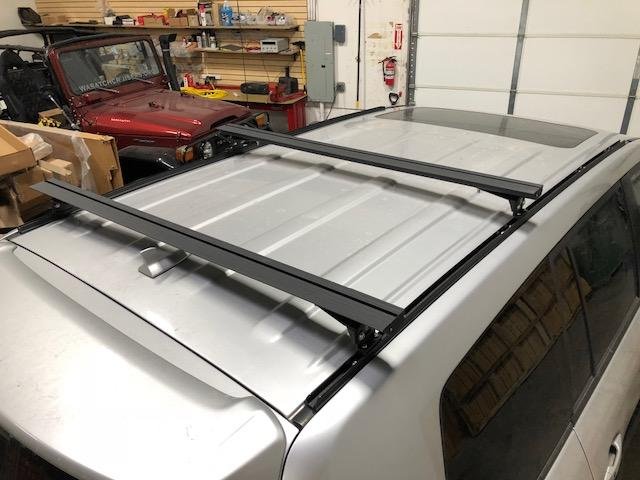 Range Rover Sport K9 Load Bar Kit