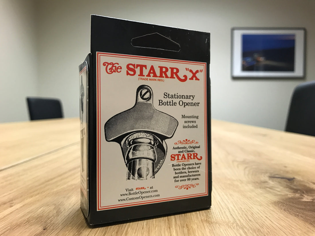 "Equipt Starr ""X"" Stationary Bottle Opener"
