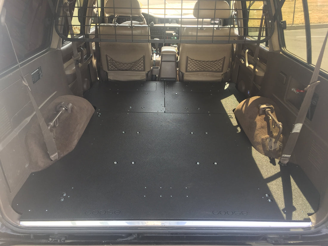 Land Cruiser 80 Seat Delete / Sleeping Platform