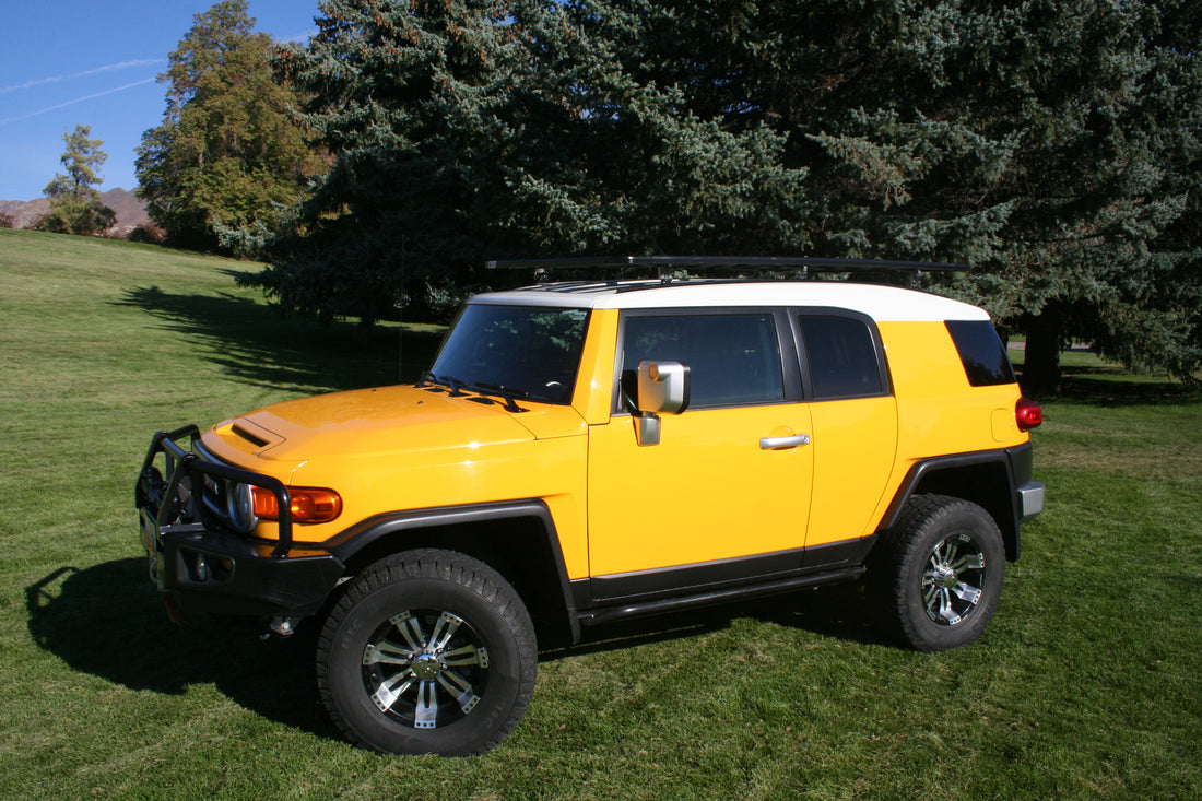 toyota fj cruiser k9 roof rack kit equipt expedition outfitters. Black Bedroom Furniture Sets. Home Design Ideas