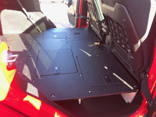 Jeep JLU Sleeping Platforms 2018 - Current