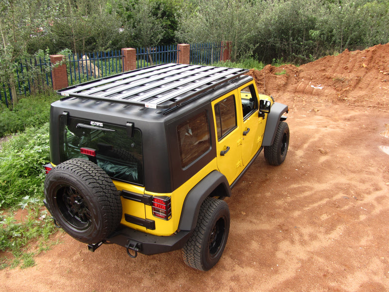 Jeep Wrangler JK K9 Roof Rack Kit