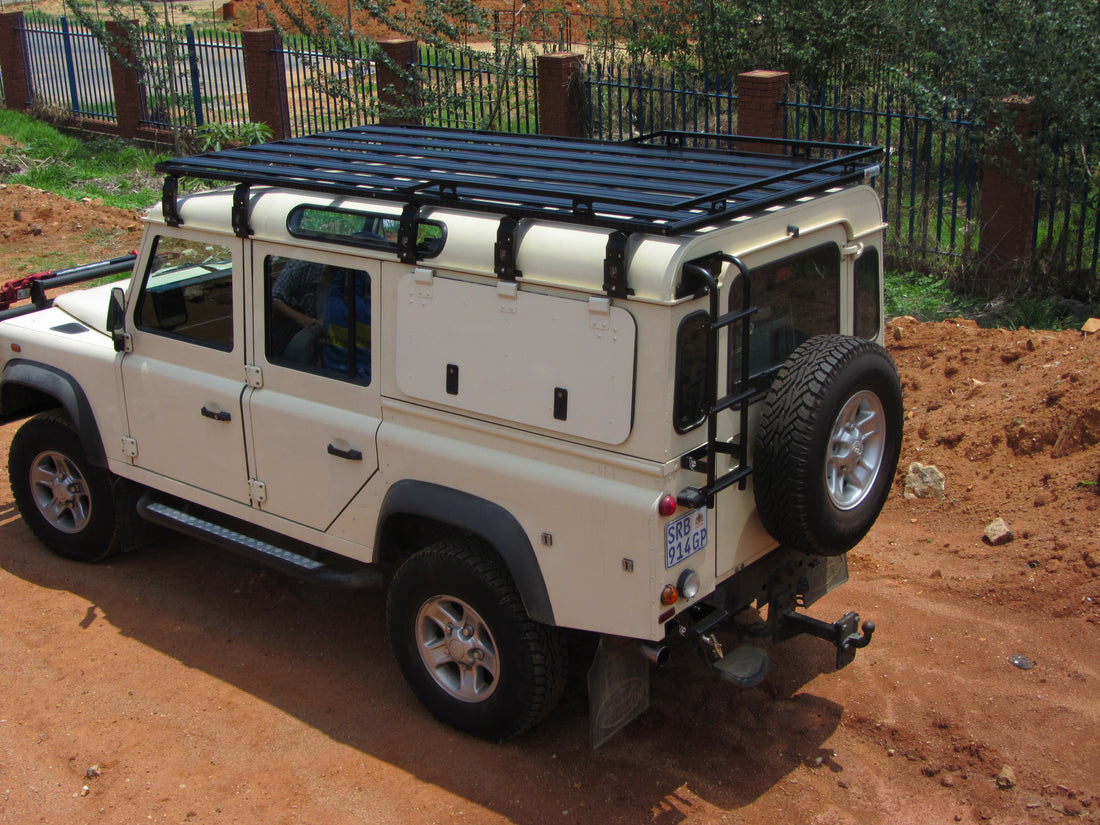 Land Rover Defender 110 K9 Roof Rack Kit Equipt Expedition Outfitters