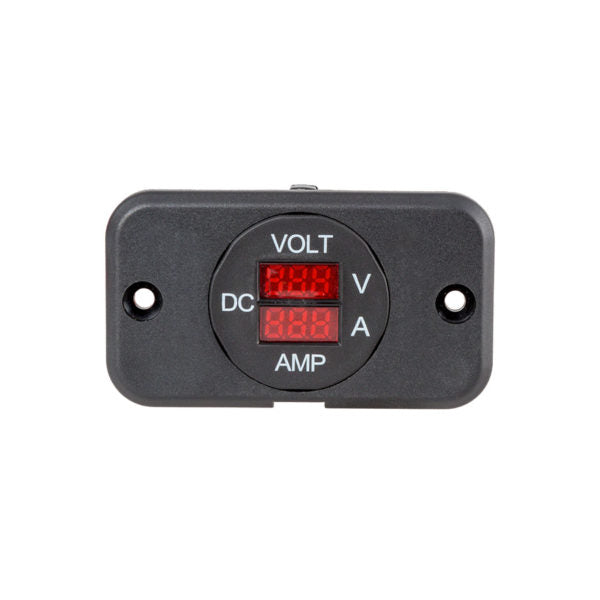 29mm Panel Mount Volt & Ammeter (7-33V/0-25A)