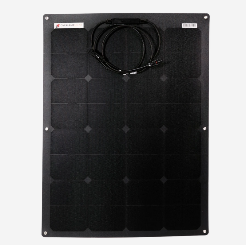 Overlander 80 WATT Semi-Flexible Solar Panel
