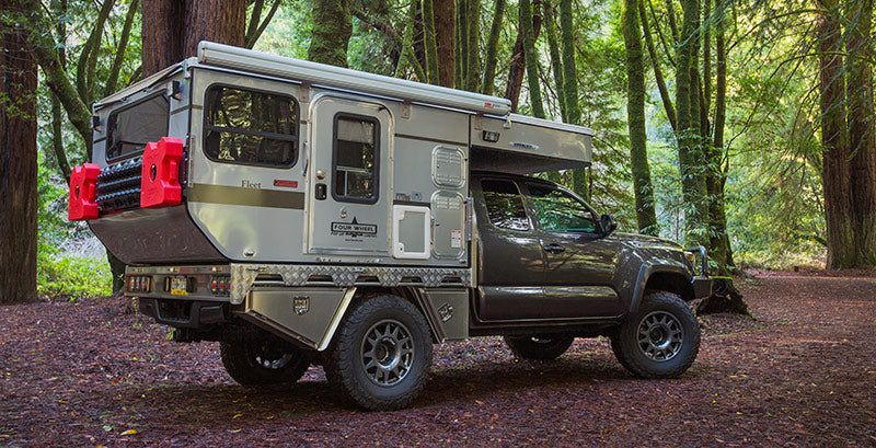 Woolrich Limited Edition Flatbed Camper
