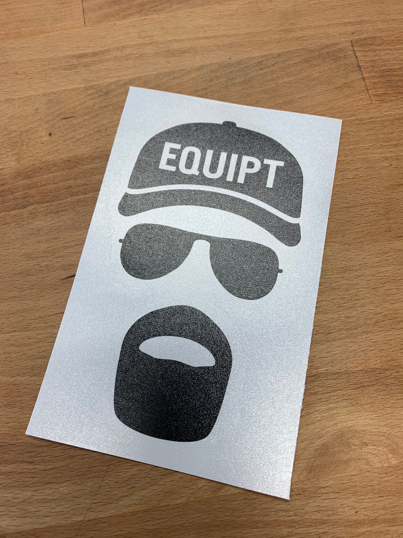 Equipt Paul Abides Sticker