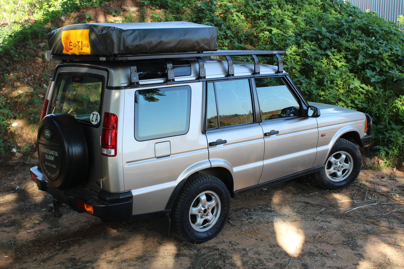 Land Rover Discovery 1/2 K9 Roof Rack Kit & EEZI-AWN u2013 Equipt Expedition Outfitters