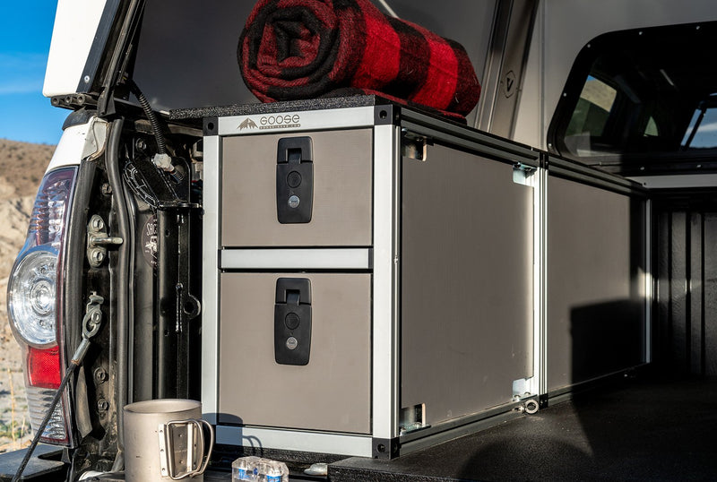 Vagabond Double Drawer Module - Tacoma Drivers Side