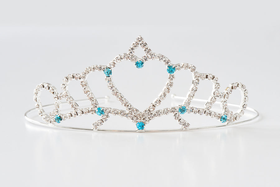 Princess Heart Tiara Set