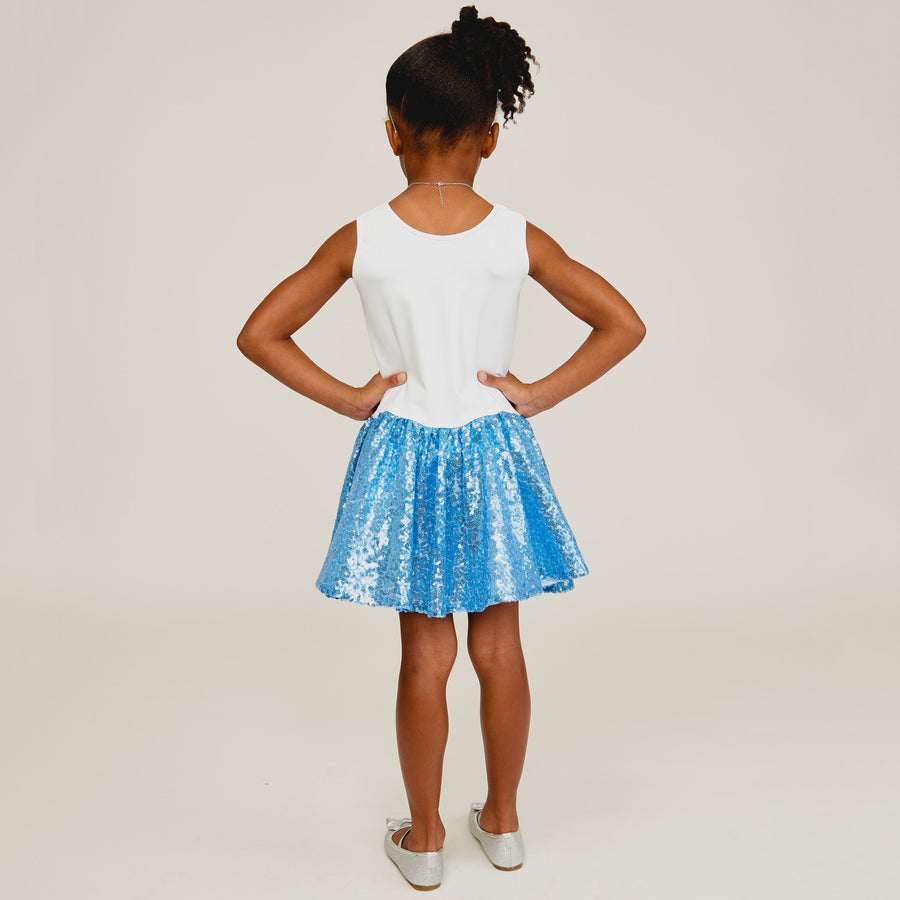 Cheerleader Dress Blue