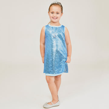 Sparkler Dress Blue
