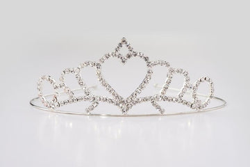 Princess Heart Tiara Silver