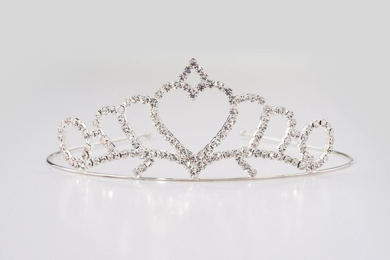 Princess Heart Tiara Blue