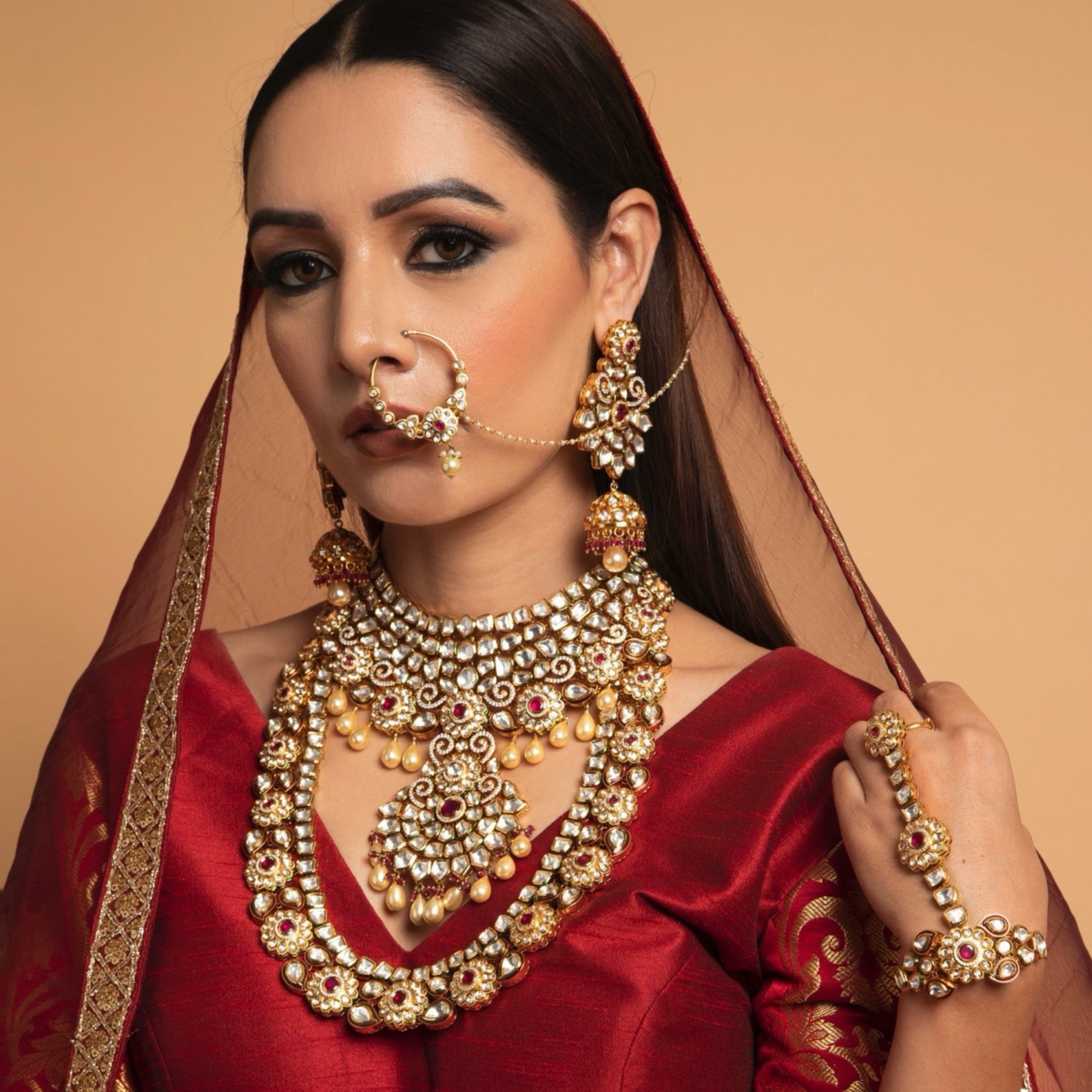 KUNDAN BRIDAL FULL SET