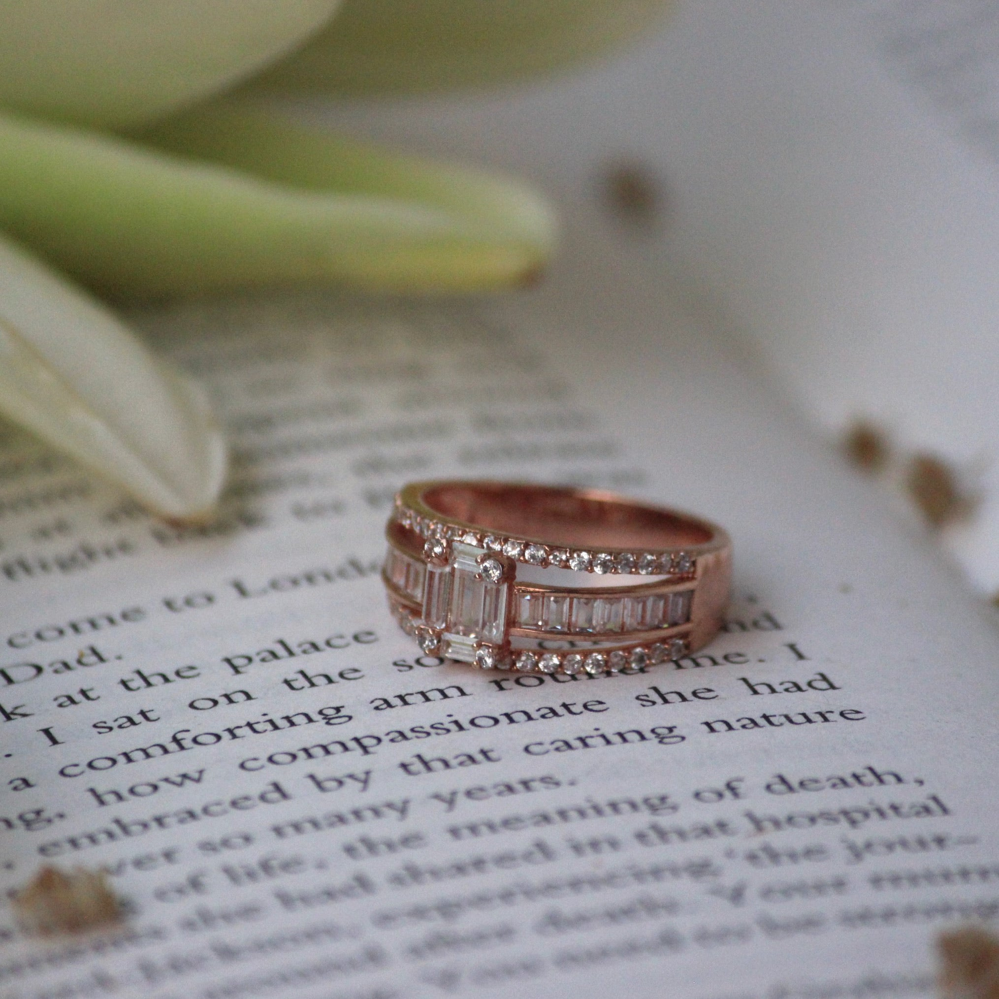 BLUSH ROSE RING