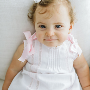 "White baby girl ""Helen"" dress"