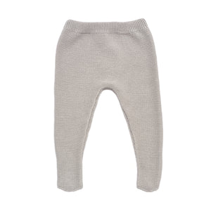 Grey Baby Boy & Girl Knitted 2 Piece Leggings Set