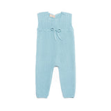 Ocean Blue Sleeveless Babysuit