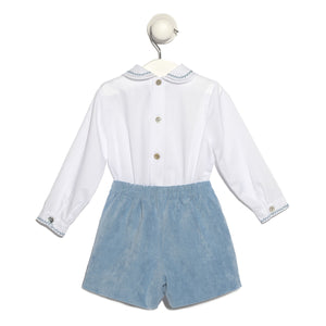 Blue Milagros Dress With Bloomers