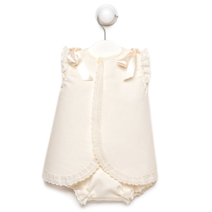 Ivory Milagros Dress With Bloomers
