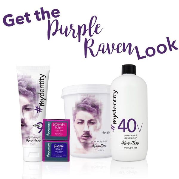 Get the Purple Raven Look