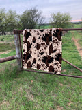 Cowprint Blanket