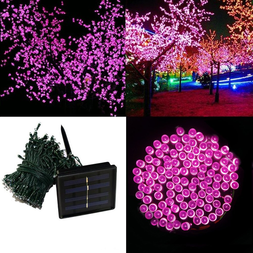 Solar String Lights, 72 Ft 200 LED Waterproof Fairy Decoration for Indoor/Outdoor