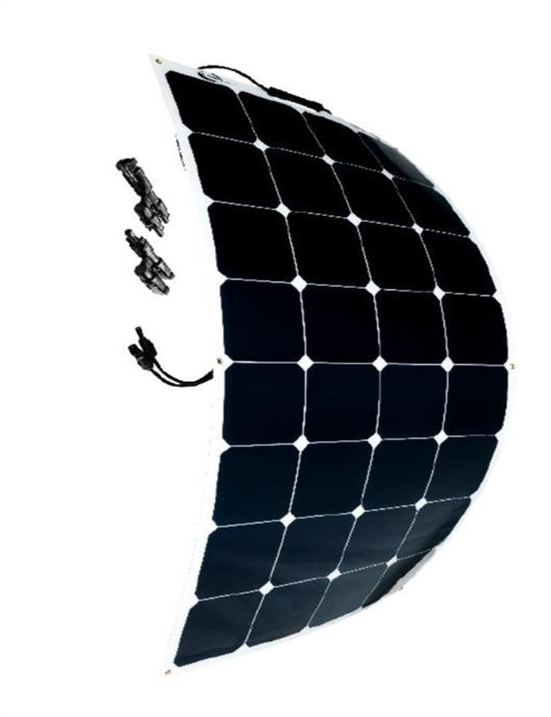 100W 18V 12V Bendable Flexible Solar Panel Charger Lightweight
