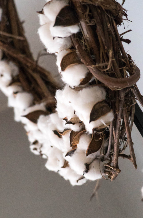 Cotton Wreaths