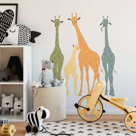 Giraffe Wall Stickers | P1024