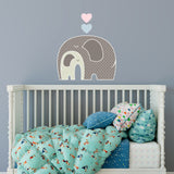 Elephant Love Sticker | P1025