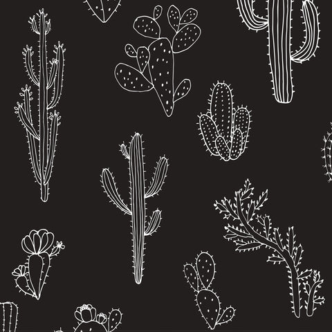 Simple Cactus Pattern | W1096