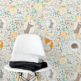 Vintage Woodland Wallpaper | W1129