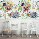 Peel and Stick Floral Wallpaper Removable