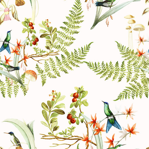 Woodland Hummingbirds | W1221