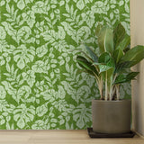 Vintage Tropical Leaves | W1240