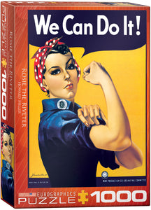 Rosie the Riveter Puzzle - 1000 Pcs