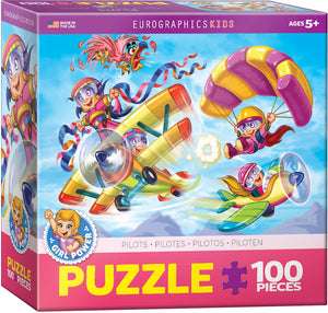 Girl Power Pilots Puzzle - 100 Pcs