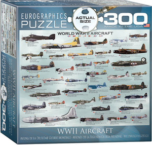 WWII Aircraft Puzzle - 300 Pcs