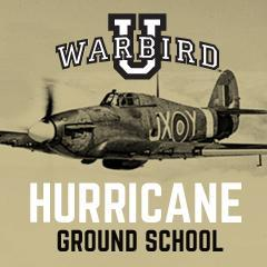 Warbird U - Hawker Hurricane - Feb. 10, 0900 to 1630 hrs